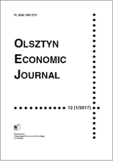 Olsztyn Economic Journal 12 (1/2017), 2017