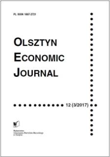 Olsztyn Economic Journal 12 (3/2017), 2017