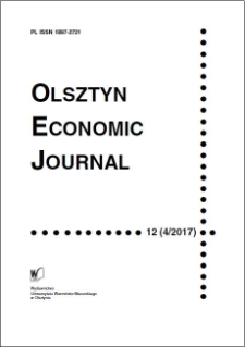 Olsztyn Economic Journal 12 (4/2017), 2017