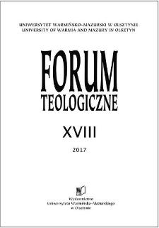 Forum Teologiczne XVIII, 2017