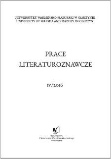 Prace Literaturoznawcze 4/2016