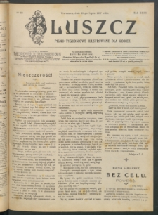 Bluszcz : pismo tygodniowe ilustrowane dla kobiet, 1907 R. 43, nr 30