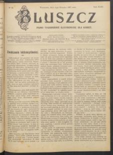 Bluszcz : pismo tygodniowe ilustrowane dla kobiet, 1907 R. 43, nr 31