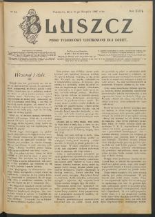 Bluszcz : pismo tygodniowe ilustrowane dla kobiet, 1907 R. 43, nr 34