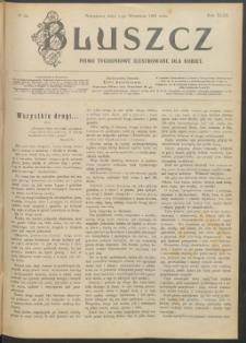 Bluszcz : pismo tygodniowe ilustrowane dla kobiet, 1907 R. 43, nr 35