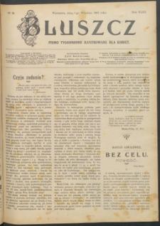 Bluszcz : pismo tygodniowe ilustrowane dla kobiet, 1907 R. 43, nr 36