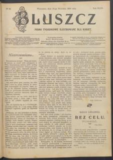 Bluszcz : pismo tygodniowe ilustrowane dla kobiet, 1907 R. 43, nr 38