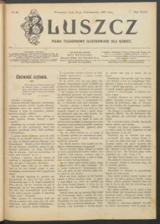 Bluszcz : pismo tygodniowe ilustrowane dla kobiet, 1907 R. 43, nr 42