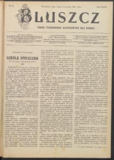Bluszcz : pismo tygodniowe ilustrowane dla kobiet, 1907 R. 43, nr 45
