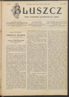 Bluszcz : pismo tygodniowe ilustrowane dla kobiet, 1907 R. 43, nr 50