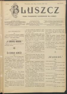 Bluszcz : pismo tygodniowe ilustrowane dla kobiet, 1907 R. 43, nr 51