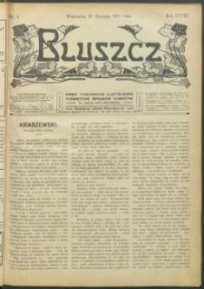 Bluszcz : pismo tygodniowe ilustrowane poświęcone sprawom kobiecym, 1912 R. 48, nr 4