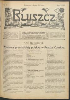 Bluszcz : pismo tygodniowe ilustrowane poświęcone sprawom kobiecym, 1912 R. 48, nr 9
