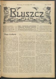 Bluszcz : pismo tygodniowe ilustrowane poświęcone sprawom kobiecym, 1912 R. 48, nr 15