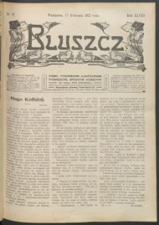 Bluszcz : pismo tygodniowe ilustrowane poświęcone sprawom kobiecym, 1912 R. 48, nr 17