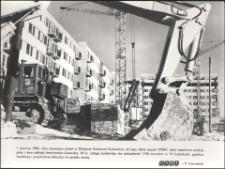 [Na budowie osiedla Jaroty w Olsztynie. 1]