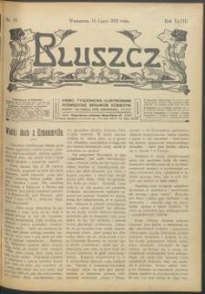 Bluszcz : pismo tygodniowe ilustrowane poświęcone sprawom kobiecym, 1912 R. 48, nr 28