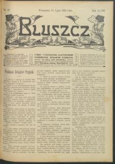 Bluszcz : pismo tygodniowe ilustrowane poświęcone sprawom kobiecym, 1912 R. 48, nr 29