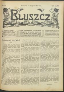 Bluszcz : pismo tygodniowe ilustrowane poświęcone sprawom kobiecym, 1912 R. 48, nr 33