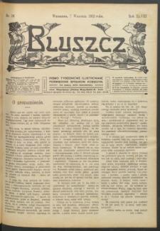 Bluszcz : pismo tygodniowe ilustrowane poświęcone sprawom kobiecym, 1912 R. 48, nr 36