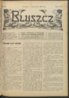 Bluszcz : pismo tygodniowe ilustrowane poświęcone sprawom kobiecym, 1912 R. 48, nr 40