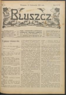 Bluszcz : pismo tygodniowe ilustrowane poświęcone sprawom kobiecym, 1912 R. 48, nr 41
