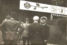 """Kapitan M/S """"Krutynia"""" w Mrągowie 1967"""