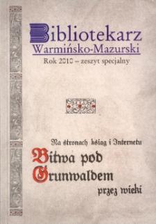 Bibliotekarz Warmińsko-Mazurski, 2010, nr specjalny