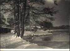 Jezioro Czos zimą. [2]