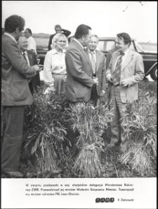 [Wizyta delegacji Ministerstwa Rolnictwa ZSRR w woj. olsztyńskim]