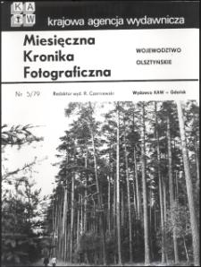 """[Strona tytułowa """"Miesięcznej Kroniki Fotograficznej : województwo olsztyńskie"""" nr 5/79]"""