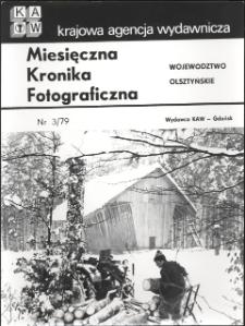 """[Strona tytułowa """"Miesięcznej Kroniki Fotograficznej : województwo olsztyńskie"""" nr 3/79]"""