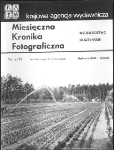 """[Strona tytułowa """"Miesięcznej Kroniki Fotograficznej : województwo olsztyńskie"""" nr 7/79]"""