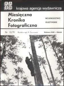 """[Strona tytułowa """"Miesięcznej Kroniki Fotograficznej : województwo olsztyńskie"""" nr 10/79]"""