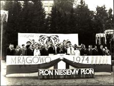 Dożynki w Mrągowie 1974. [1]