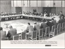 [Spotkanie egzekutywy KW PZPR w Olsztynie z dowództwem Pomorskiego Okręgu Wojskowego]