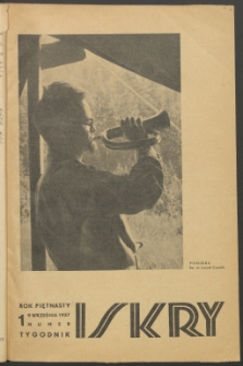 Iskry, 1937, nr 1