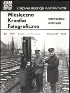 """[Strona tytułowa """"Miesięcznej Kroniki Fotograficznej : województwo olsztyńskie"""" nr 12/79]"""