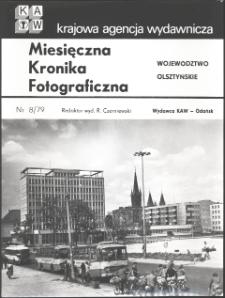 """[Strona tytułowa """"Miesięcznej Kroniki Fotograficznej : województwo olsztyńskie"""" nr 8/79]"""