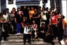[Bibliotekarze z Białorusi i Niemiec w Bibliotece Miejskiej w Mrągowie 2010]