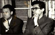 [Dyrektorzy bibliotek] Wacław Gołowicz i Jan Burakowski. [1]