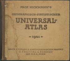 Prof. Hickmann's Geographisch-statistischer Universal-Atlas