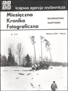 """[Strona tytułowa """"Miesięcznej Kroniki Fotograficznej : województwo olsztyńskie"""" nr 2/79]"""