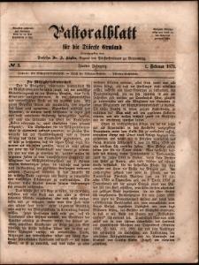 Pastoralblatt für die Diözese Ermland, 1873, nr 3