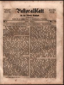 Pastoralblatt für die Diözese Ermland, 1873, nr 5