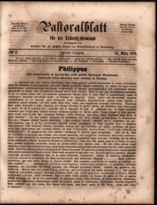 Pastoralblatt für die Diözese Ermland, 1873, nr 6