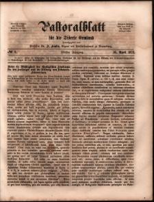 Pastoralblatt für die Diözese Ermland, 1873, nr 8