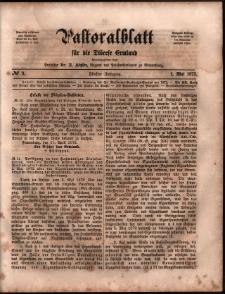 Pastoralblatt für die Diözese Ermland, 1873, nr 9