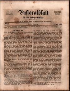 Pastoralblatt für die Diözese Ermland, 1873, nr 13