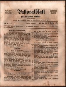 Pastoralblatt für die Diözese Ermland, 1873, nr 16-17